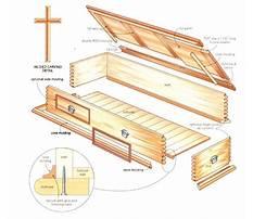 Plans for homemade casket Plan