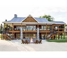 Plans for lake homes Plan