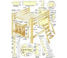 Plans for loft bunk bed Plan