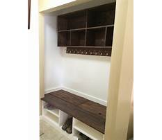 Plans for mudroom bench youtube Plan