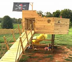 Plans for pirate ship playset Plan