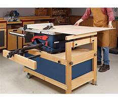Plans for table saw cabinet Plan
