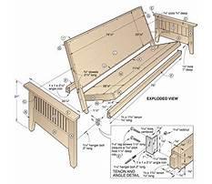Plans for wood futon frame Plan