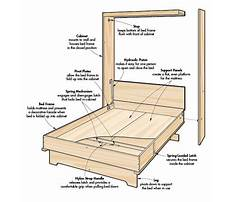 Plans on how to build a murphy bed Plan