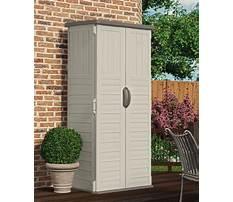 Plastic garden storage shed.aspx Plan