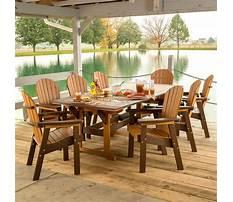 Plastic outdoor furniture in penn Plan