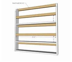 Plate display shelf woodworking plans Plan