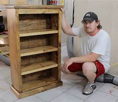 Pocket hole bookcase plans Plan