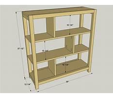 Pocket hole bookshelf plans Plan