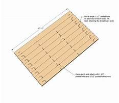 Pocket hole project plans.aspx Plan