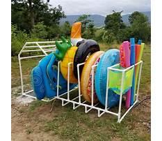 Pool toy organizer Plan