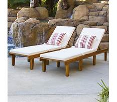 Poolside furniture clearance Plan
