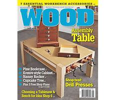 Popular woodworking magazine back issues Plan