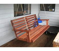 Porch swing plans and patterns Plan