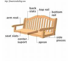 Porch swing plans free shopsmith Plan