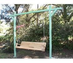 Porch swings alabama Plan