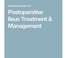 Postoperative ileus diet Plan
