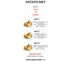 Potato diet benefits Plan
