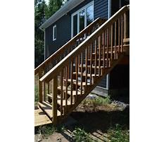 Pressure treated wood steps.aspx Plan