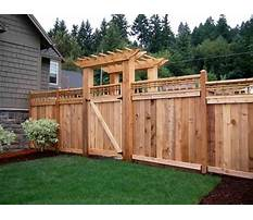 Privacy fence options diy halloween Plan