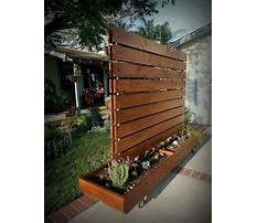 Privacy fence options diy Plan