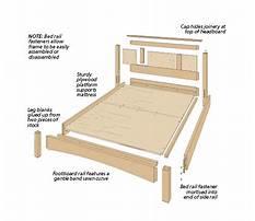 Queen platform bed woodworking plans.aspx Plan