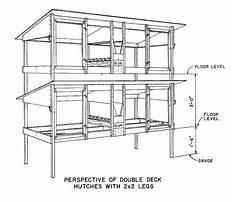 Rabbit hutch double decker dimensions Plan