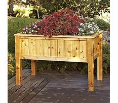 Raised cedar planter box plans Plan