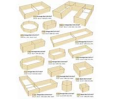 Raised garden beds designs Plan