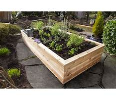 Raised garden beds plans Plan