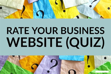 Rate Your Website