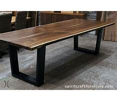 Raw iron end table legs Plan