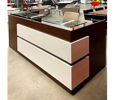 Reception desk furniture used Plan