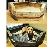 Reclaimed wood dog bed Plan