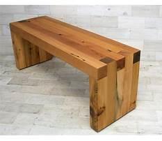Reclaimed wooden bench.aspx Plan