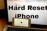 Restore iPhone 6s Hard Reset