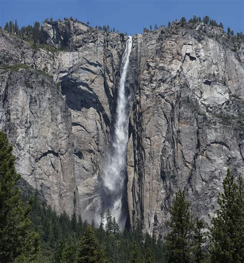 Ribbon Fall Yosemite National Park