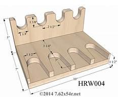 Rifle floor rack plans Plan