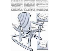Rocking adirondack chair plans.aspx Plan