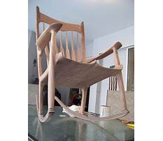 Rocking chair plans.aspx Plan