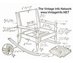 Rocking chair plans to download Plan