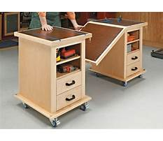 Rolling garage cabinet building plans Plan