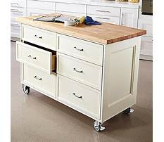 Rolling kitchen carts at lowes Plan