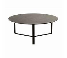 Round black coffee tables Plan