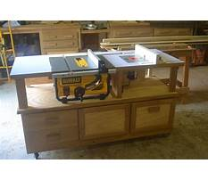 Router and table saw cabinet plans Plan