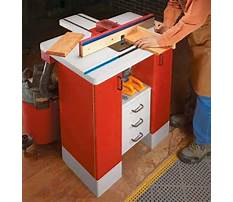 Router table cabinet.aspx Plan
