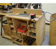 Router table plans uk Plan