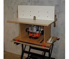 Router table router.aspx Plan