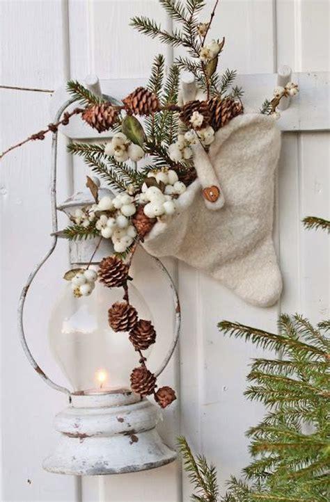 Rustic Outdoor Winter Decorations