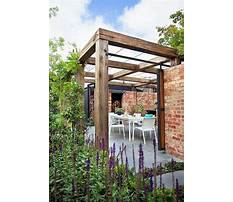 Rustic and simple arbor ideas Plan
